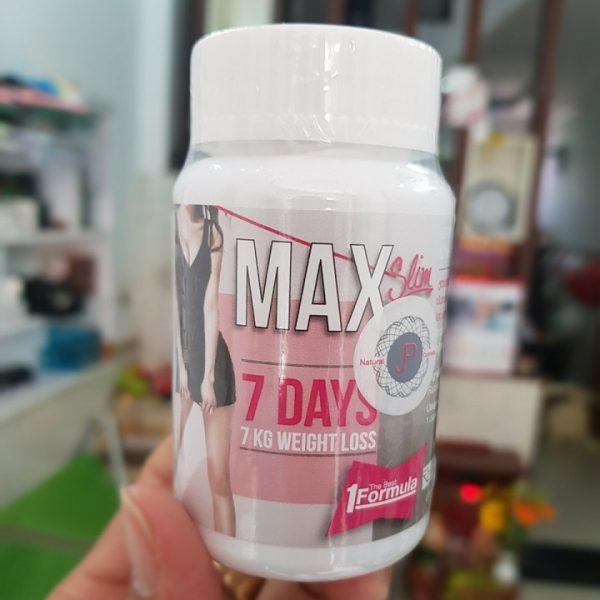 Thuốc giảm cân max 7 day thái lan có tốt không