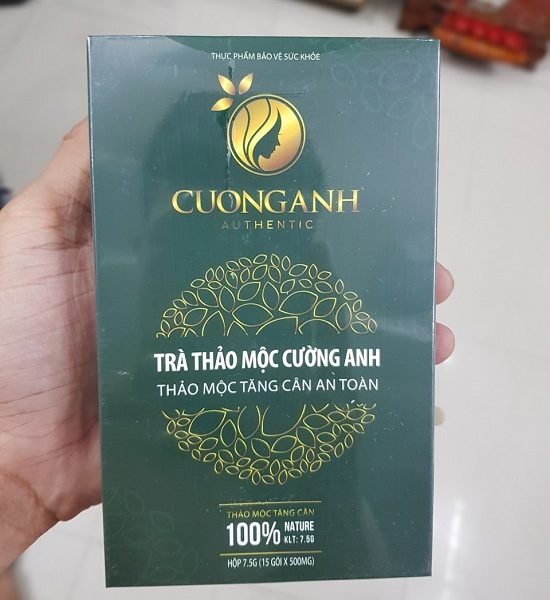 review trà tăng cân cường anh