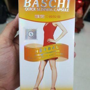 Thuốc giảm cân baschi quick slimming capsule