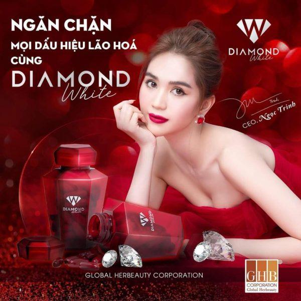 vien uong trang da tri nam beauty diamond white ngoc trinh